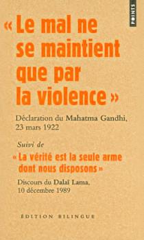 """""""Le mal ne se maintient que par la violence"""" : déclaration du Mahatma Gandhi, 23 mars 1922 N°2244"""