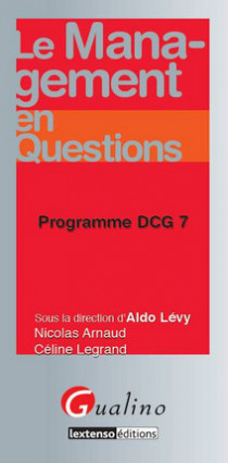 Le management en questions - Programme DCG 7