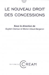 Le nouveau droit des concessions