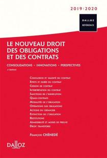 Le nouveau droit des obligations et des contrats 2019-2020