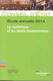 Le numérique et les droits fondamentaux Etude annuelle 2014