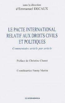 Le pacte international relatif aux droits civils et politiques