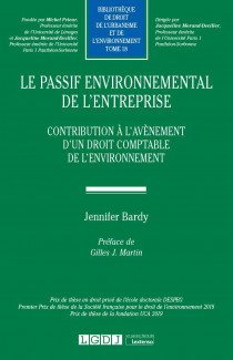 Le passif environnemental de l'entreprise