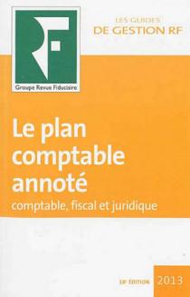 Le plan comptable annoté 2013