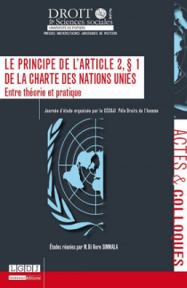 Le principe de l'article 2 § 1 de la Charte des Nations Unies