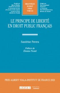 Le principe de liberté en droit public français