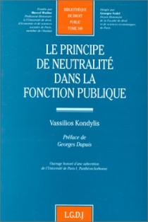 Le principe de neutralité dans la fonction publique