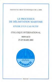 Le processus de délimitation maritime : étude d'un cas fictif