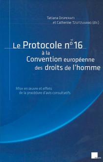 Le protocole n°16 à la Convention européenne des droits de l'homme