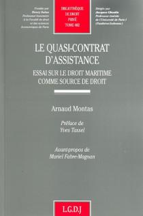Le quasi-contrat d'assistance