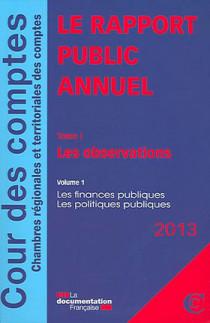 Le rapport public annuel 2013, 5 volumes