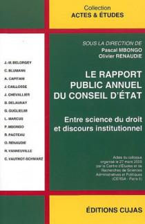 Le rapport public annuel du Conseil d'Etat
