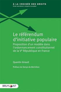 Le référendum d'initiative populaire