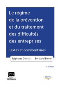 Le régime de la prévention et du traitement des difficultés des entreprises