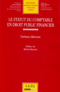 Le statut du comptable en droit public financier