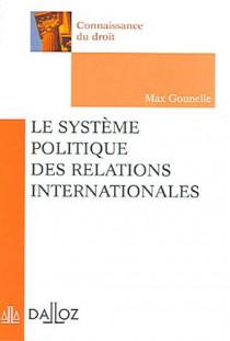 Le système politique des relations internationales