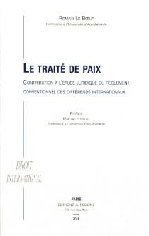 Le traité de paix