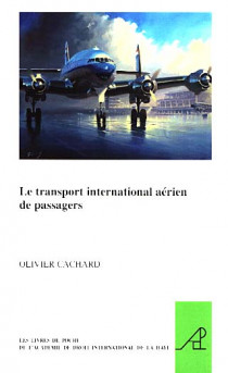 Le transport international aérien des passagers