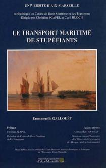 Le transport maritime de stupéfiants
