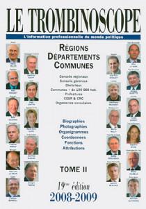 Le trombinoscope : l'information professionnelle du monde politique 2008-2009