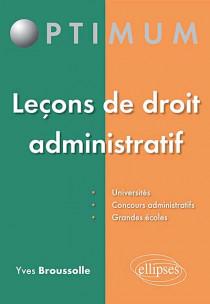Leçons de droit administratif