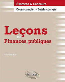 Leçons de finances publiques