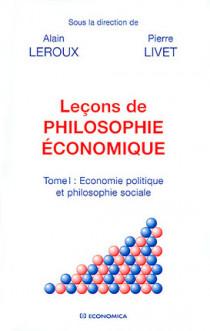 Leçons de philosophie économique