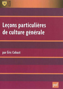 Leçons particulières de culture générale