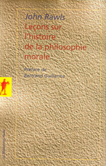 Leçons sur l'histoire de la philosophie morale