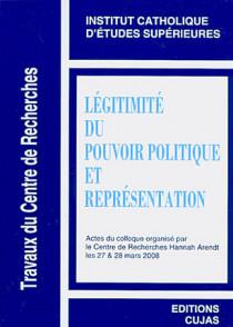Légitimité du pouvoir politique et représentation