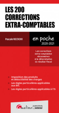[EBOOK] Les 200 corrections extra-comptables (IR, IS et BIC)