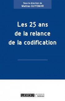 [EBOOK] Les 25 ans de la relance de la codification