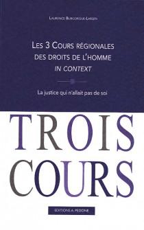 Les 3 Cours régionales des droits de l'homme in context