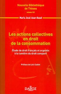 Les actions collectives en droit de la consommation