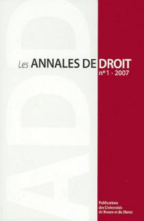 Les annales de droit 2007