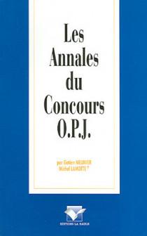 Les annales du Concours O.P.J.
