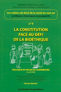 La constitution face au défi de la bioéthique