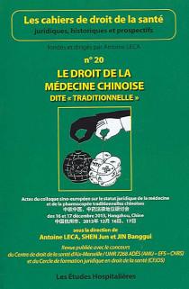 """Le droit de la médecine chinoise dite """"traditionnelle"""""""