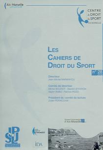 Les cahiers de droit du sport, 2012 N°28