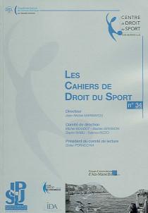 Les Cahiers de Droit du Sport, 2014 N°34
