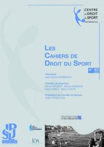 Les Cahiers de Droit du Sport, 2015 N°40