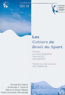 Les cahiers de droit du sport N°19