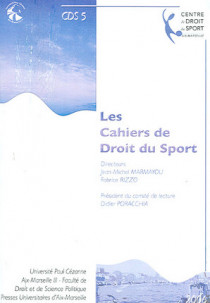 Les cahiers de droit du sport N°5