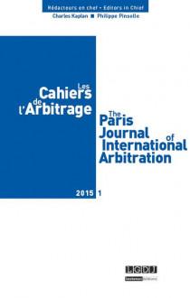 Les cahiers de l'arbitrage N°1-2015