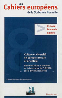 Les Cahiers européens de la Sorbonne Nouvelle, décembre 2012 N°8