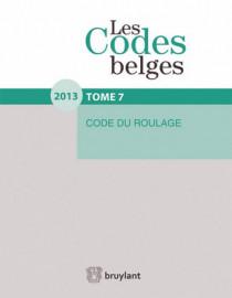 Les codes belges : code du roulage