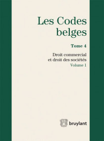 Les codes belges. Droit commercial et droit des sociétés - 2015 (2 volumes)