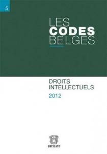 Les codes belges. Droits intellectuels