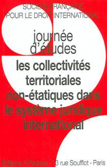 Les collectivités territoriales non-étatiques dans le système juridique international