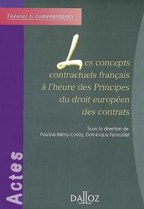 Les concepts contractuels français à l'heure des principes du droit européen des contrats